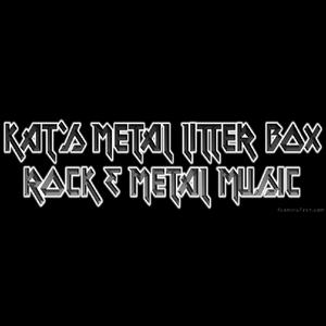 Rádio Kat's Metal Litter Box
