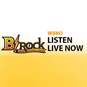 Rádio WBNO-FM - B-Rock 100.9 FM