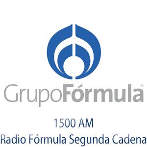 Rádio Grupo Fórmula 1500 AM - Radio Fórmula Segunda Cadena