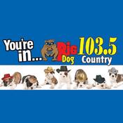 Rádio WUUF - Big Dog Country 103.5 FM