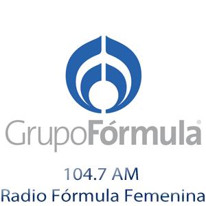Rádio Grupo Fórmula 1047 AM - Radio Fórmula Femenina