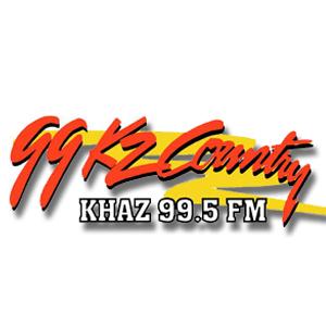 Rádio KHAZ - KZ Country 99.5 FM