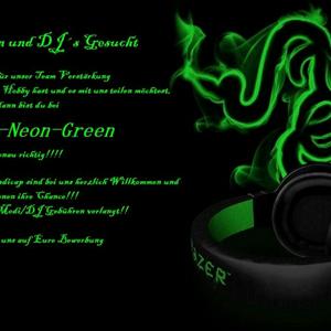 Rádio Radio Neon Green 1