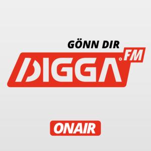 Rádio DIGGA.FM - Deutschrap. 24 Stunden. Täglich