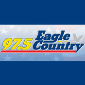 Rádio WTTN - 97.5 Eagle Country 97.5 FM
